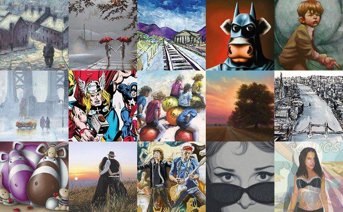TREEBY & BOLTON artists