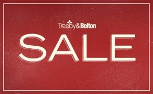 January Sale 2016 at Treeby & Bolton