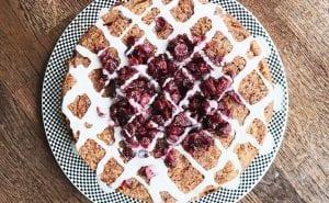 Gluten free orange and cranberry cake