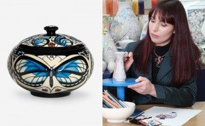 Meet Moorcroft Designer Rachel Bishop at Treeby & Bolton, Keswick, Saturday 10th October 2015