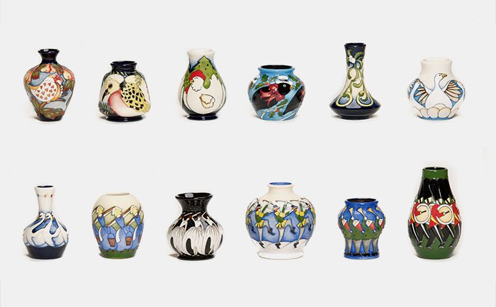 Moorcroft Twelve Days of Christmas