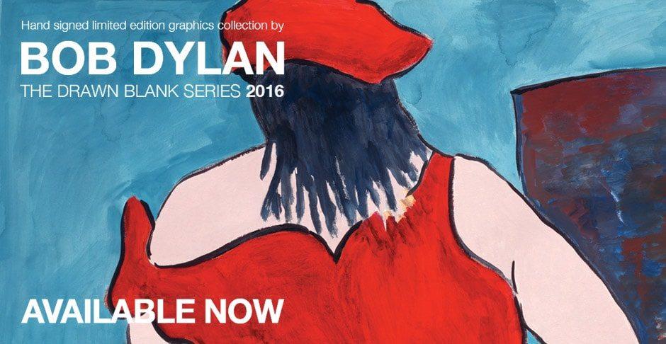Bob Dylan Drawn Blank Series 2016