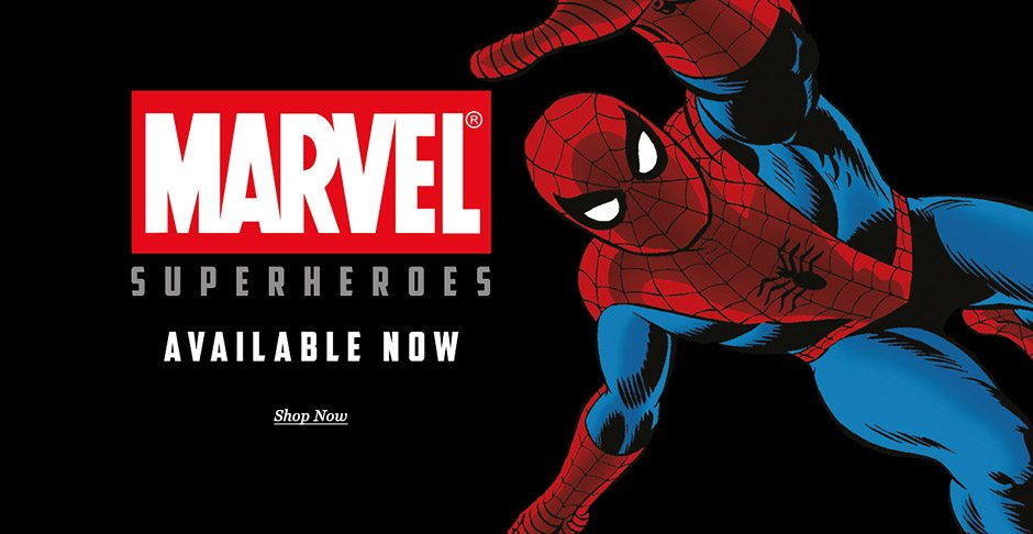 Marvel Superheroes 2016 prints available now