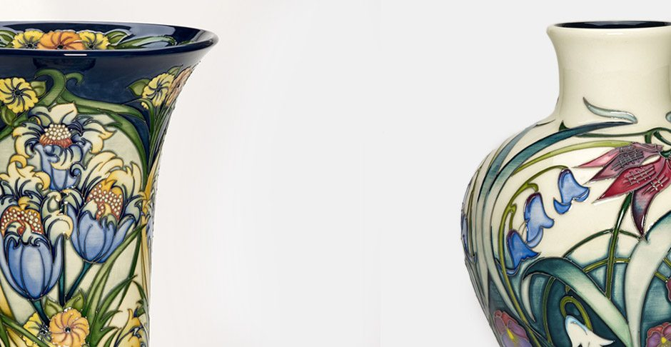Moorcroft Flying Phoenix Collection