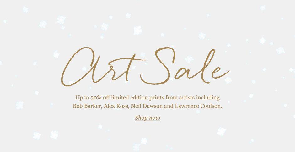 Winter Art Sale Now On