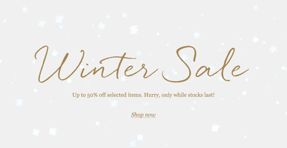 Winter Brand Sale Now On