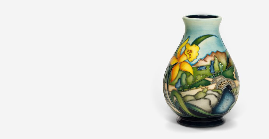 Moorcroft Ashness Bridge Vase