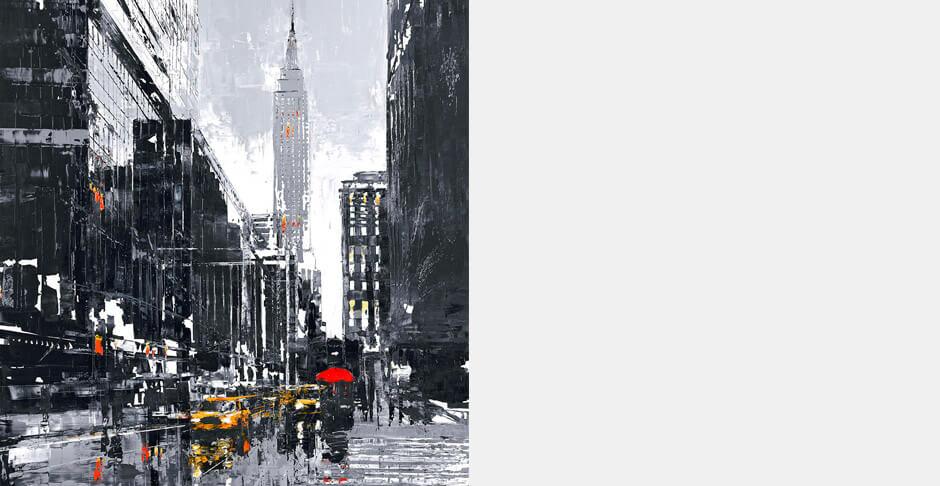 NY Taxi by Paul Kenton