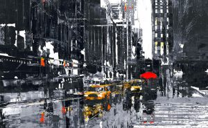 NY Taxi by Paul Kenton