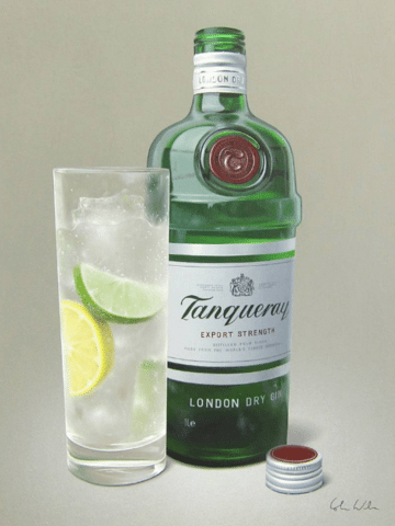 Colin Wilson Tantalising Tanquery Gin