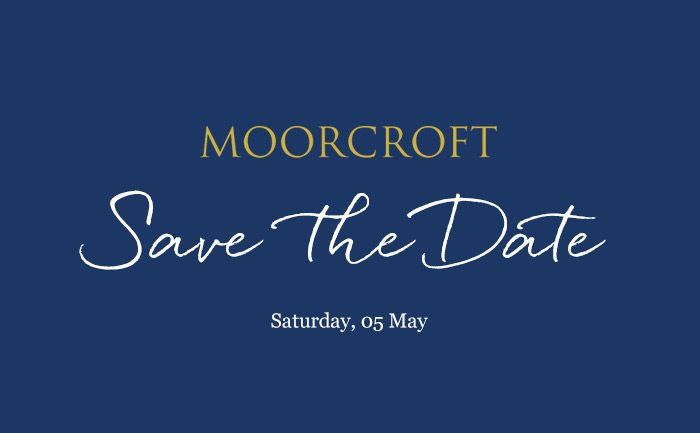 Moorcroft event save the date
