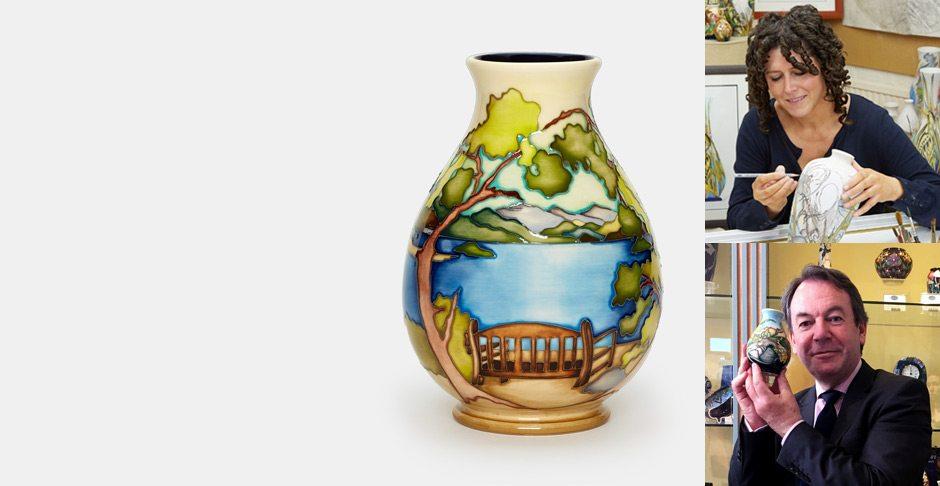 Exclusive Moorcroft Friars Crag Vase Launch