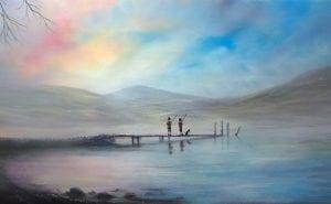 Meet the Artist Danny Abrahams at Treeby & Bolton Art Gallery