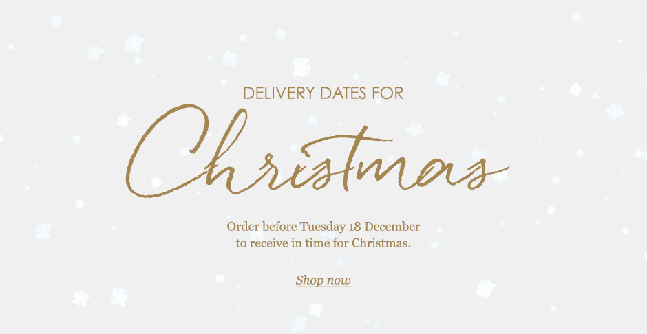 Order before Tue 18 Dec to receive in time for Christmas