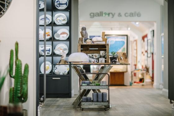 Treeby & Bolton Shop Gallery & Cafe