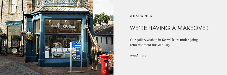 Our Gallery & Shop are undergoing a refurbishment in January. Read more.