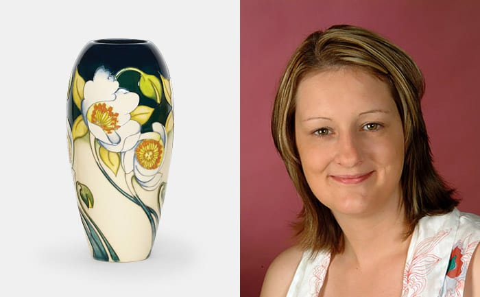 Moorcroft Design Exclusive Event with Nicola Slaney